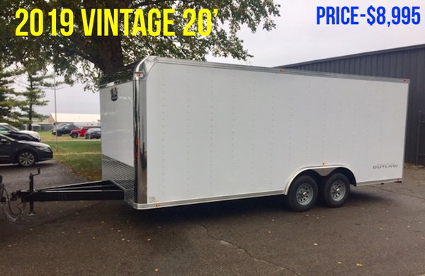 2019 Vintage 20' Enclosed   for Sale $8,995