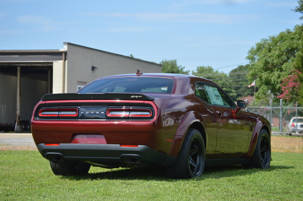 Dodge Demon #0295 (NOT DRIVEN!!) (NEW!)  for Sale $139,495