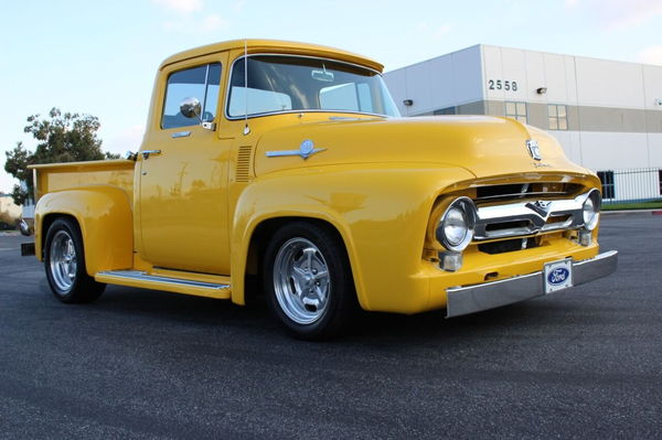 1956 Ford F-100 Custom Cab  for Sale $59,900