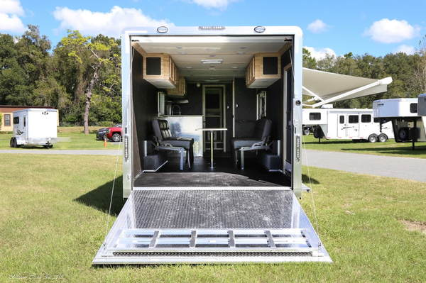 Price reduced ! 2019 STW Enclosed Toy Hauler With 14'
