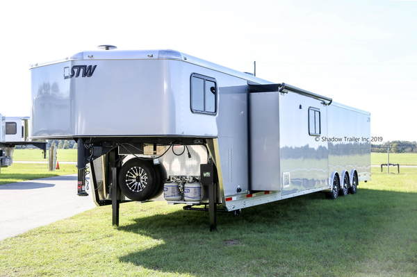 2020 STW Enclosed Race Car Hauler with 17' Luxury LQ
