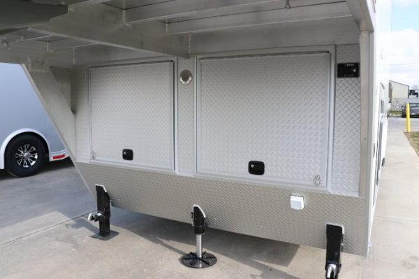 2019 Intech 40' Aluminum Gooseneck Sprint Car Trailer  for Sale $69,999