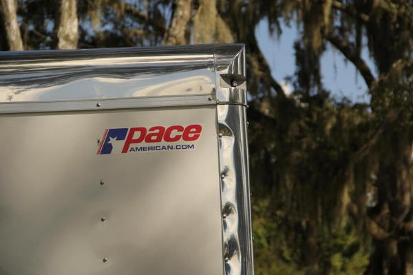 28' Pace American w/ 5200# Spring Axles