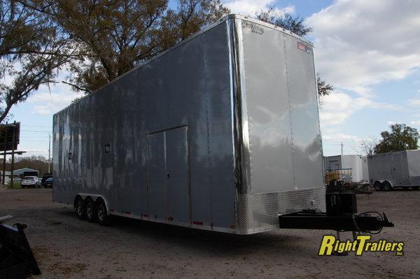 2021 8.5X34 Team Spirit Race Trailer Stacker