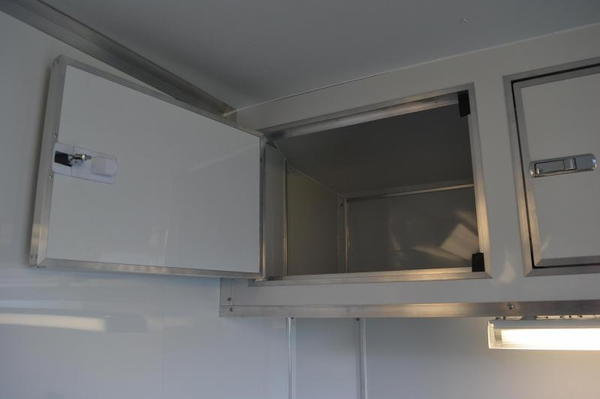 Save $1000 - 24' Race Trailer - Cabinets, Alum Wheels, LEDs