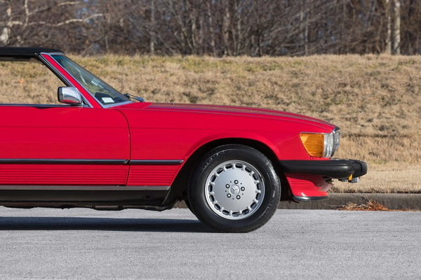 1986 Mercedes-Benz 560SL  for Sale $26,995