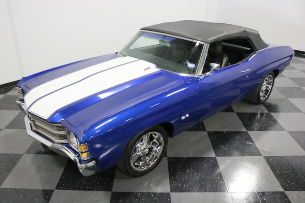 1971 Chevrolet Chevelle Convertible Restomod  for Sale $54,995