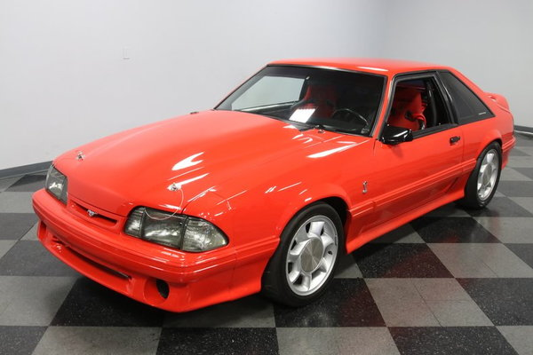 1993 Ford Mustang SVT Cobra Supercharged  for Sale $34,995