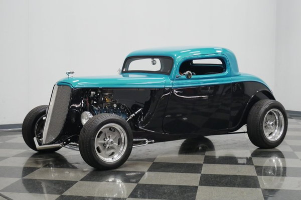1934 Ford 3-Window Coupe  for Sale $46,995