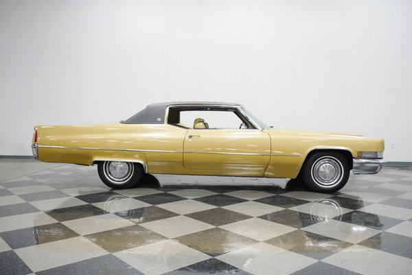 1970 Cadillac Coupe DeVille  for Sale $15,995