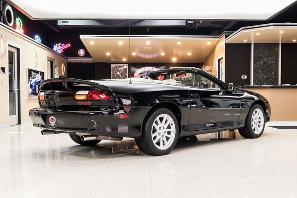 2002 Chevrolet Camaro SS Convertible  for Sale $34,900