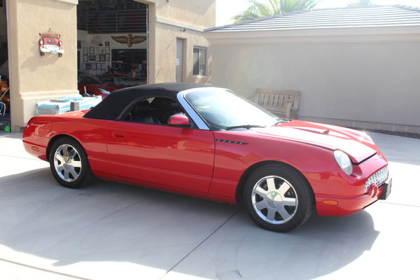 2002 Ford Thunderbird  for Sale $14,500