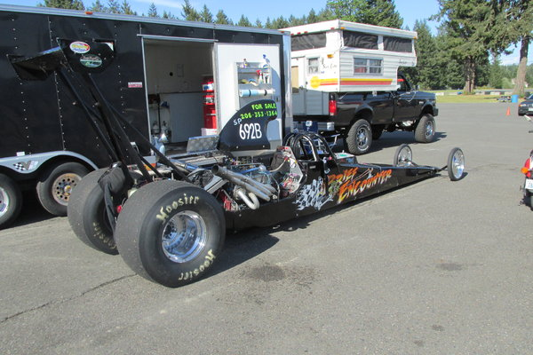 Read Engine Dragster  for Sale $10,300