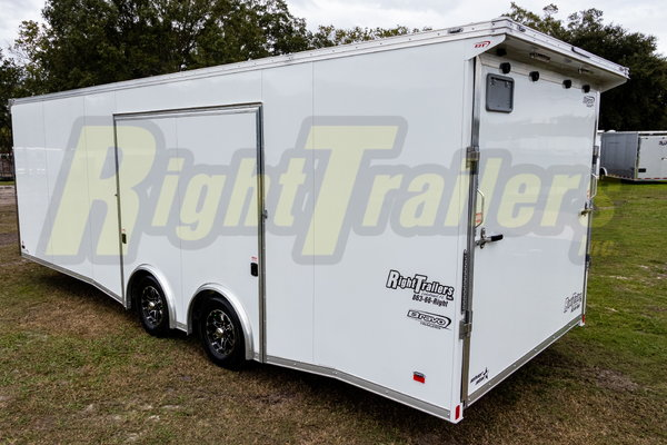 2021 8.5x24 Bravo Race Trailer with PED