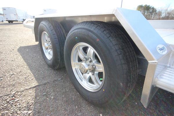 2021 Adam 18ft. Aluminum w/3,500lb. Axles Open Car Trailer
