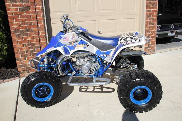 1988 LT250R show/race/trail quadracer