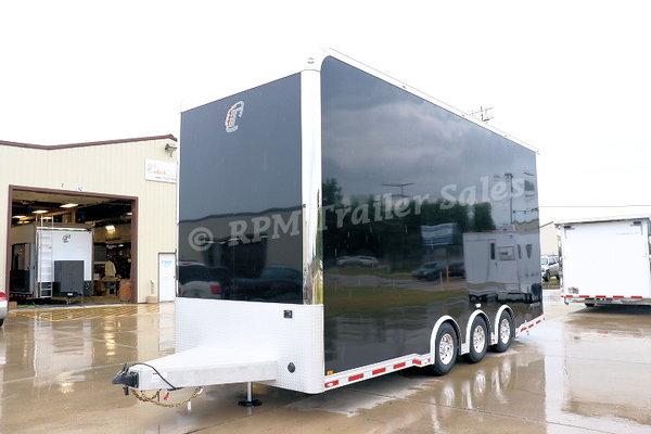 24' Custom inTech Aluminum Stacker Trailer