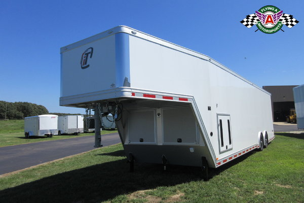2019 inTech 38' Gooseneck Race Trailer -- ON ORDER!