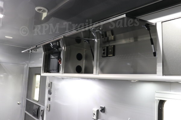 28' inTech Race Car Trailer with Full Bathroom Package - 117