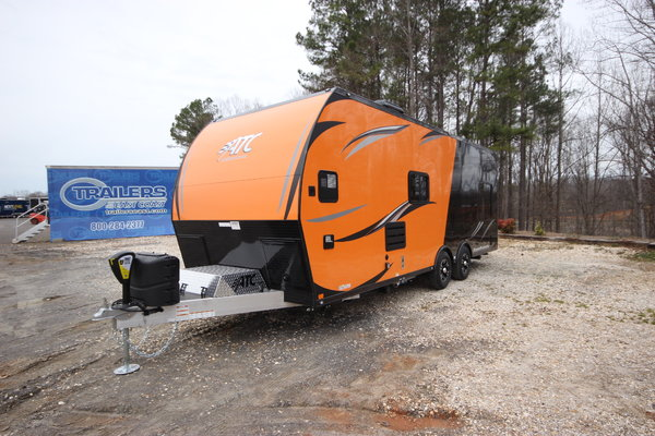 2019 ATC 24ft Aluminum Toy Hauler