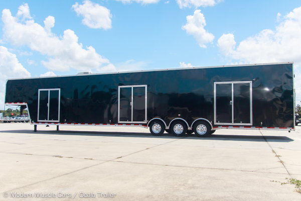 2020 Vintage 3-Car Wedge Enclosed Car Trailer  for Sale $55,900