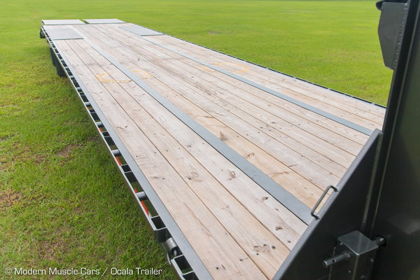 """New 2020 MaxxD LDX Flatbed Trailer - 102"""" x 40'   for Sale $21,400"""