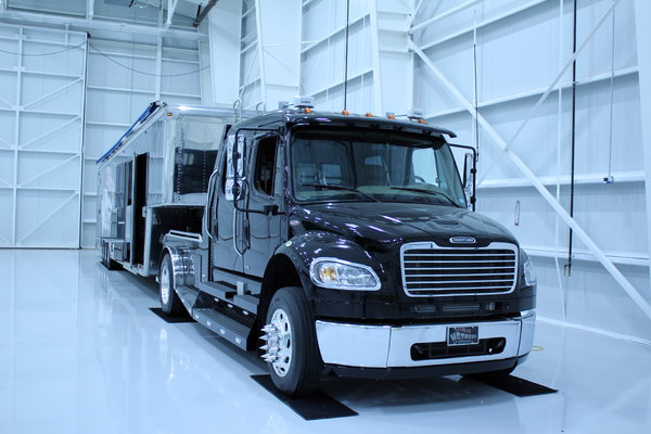 2008 Freightliner M2 SportChassis and Trailer  for Sale $125,000