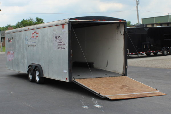 SALE PENDING USED 1993 26' Pace American Car Trailer