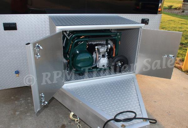 28' Custom inTech Aluminum Stacker Trailer - 11716