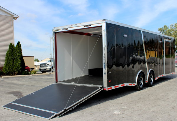 CALL FOR SALE PRICE 2019 28' Enclosed Race Trailer LOADED