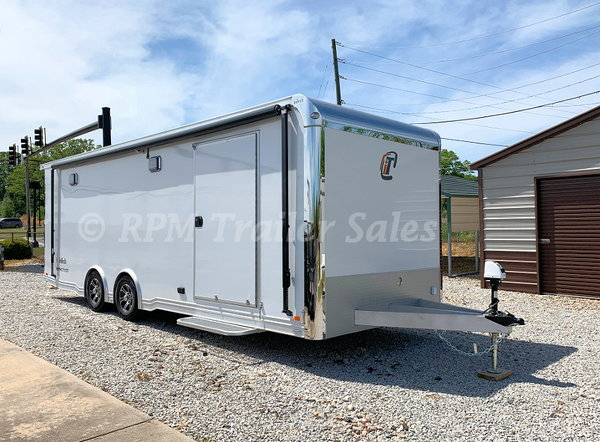 24' inTech Aluminum Race Car Trailer - 11530