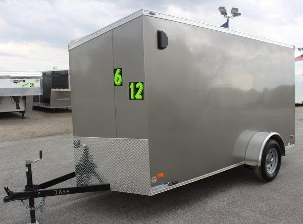 2019  6'x12' Cargo Trailer w/Ramp Door