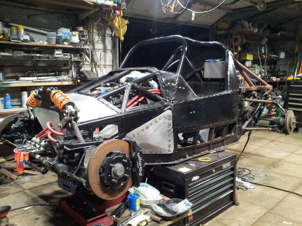 Bare Welded Chassis for D16 Y8 Honda DriveTrain  for Sale $4,000