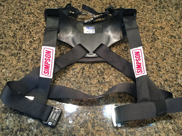 Simpson HY Sport Small head & neck restraint  for Sale $500