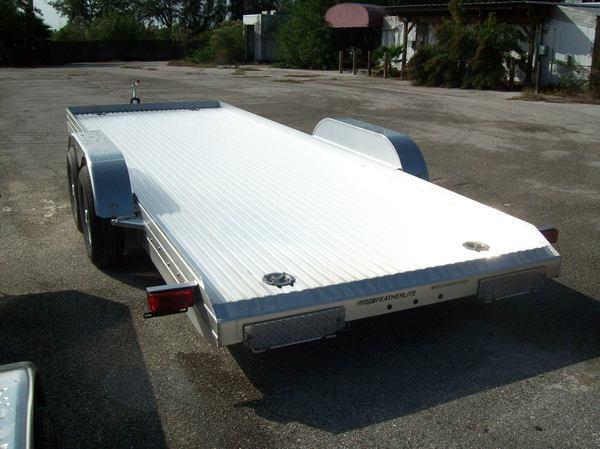 Aluminum Open Car hauler 20'  for Sale $8,495