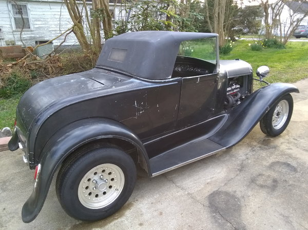 1930 Ford Model A Roadster (Fiberglass Body) for sale in Oxford, NC, Price:  $17,500