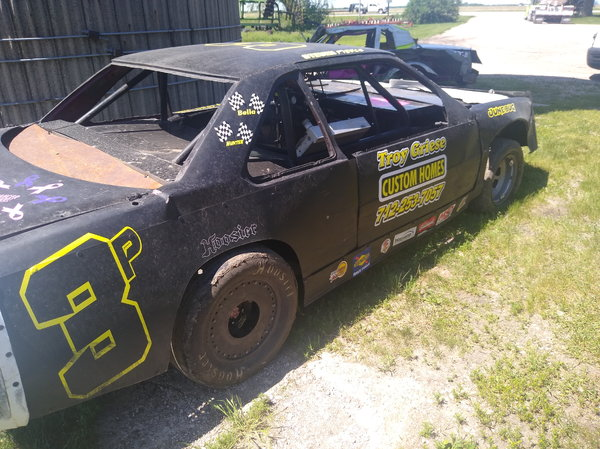Adams imca stock car full roller trades accepted