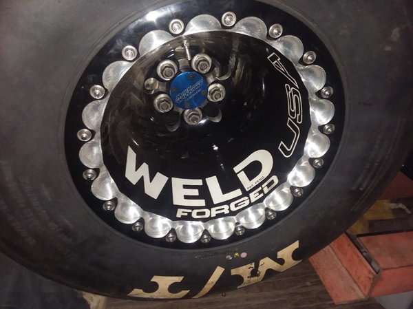 New 15.3 Delta 1 wheels 16x16×5 on 5 with 5 inch back   for Sale $4,800