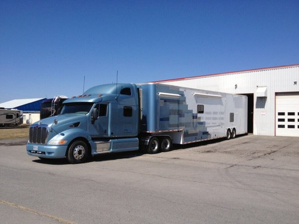 2012 Factory Transport Toy Hauler with living quarters.  for Sale $275,000