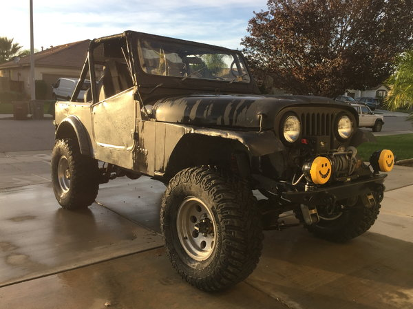 1986 Jeep CJ7  for Sale $5,000