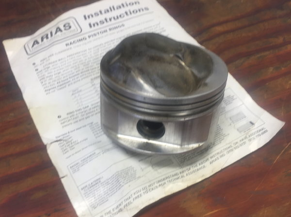 J@E and Arias Pistons  for Sale $125