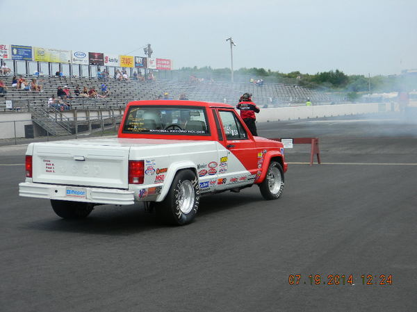 Jeep Comanche R/SA Tired of HP Hits NHRA 1.25 Under  for Sale $25,000