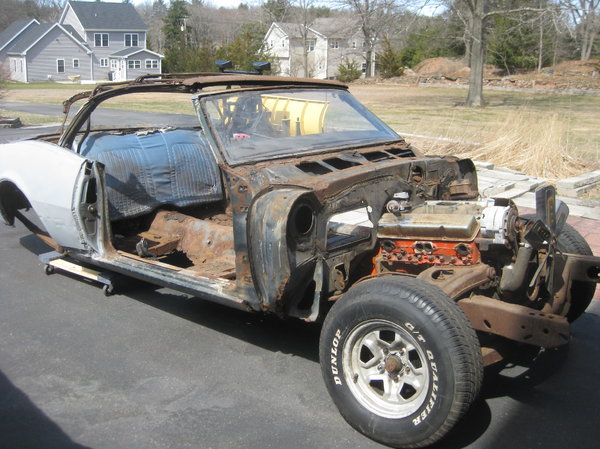 1968 Chevrolet Camaro  for Sale $2,000