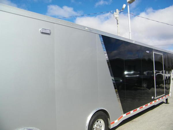 2019 ATC Quest 8.5x42 Aluminum Enclosed Car Trailer Car / Ra  for Sale $47,500