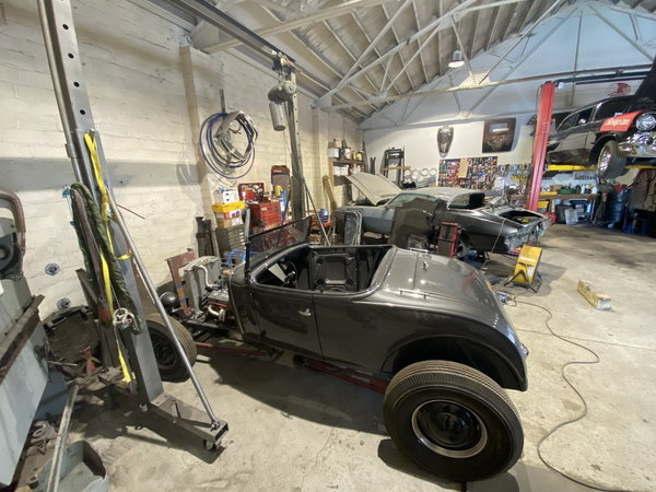 HARRYS ROD SHOP .. Early Ford work is our Business