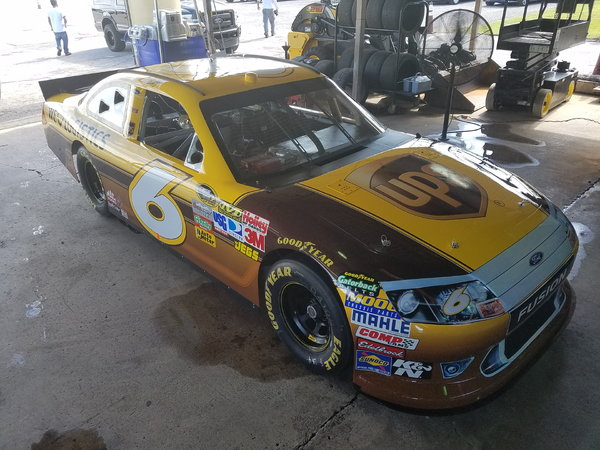 FORD NASCAR ROUSH YATES #6 UPS CAR ROAD RACE READY
