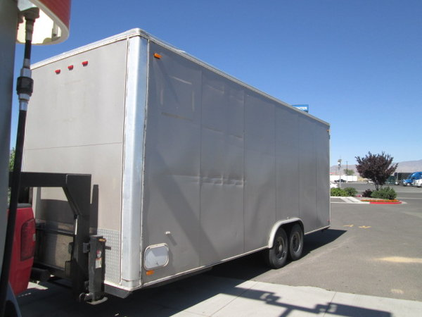2008 Carson high cube 24' 5th Wheel 9 foot interior, shell  for Sale $8,000