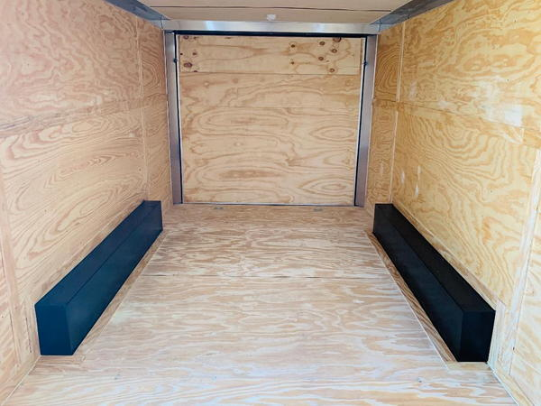 2019 8.5'X20' COVERED WAGON TANDEM ENCLOSED TRAILER  for Sale $8,995
