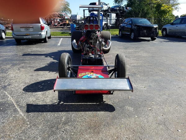 Outlaw Alcohol Dragster  for Sale $40,000