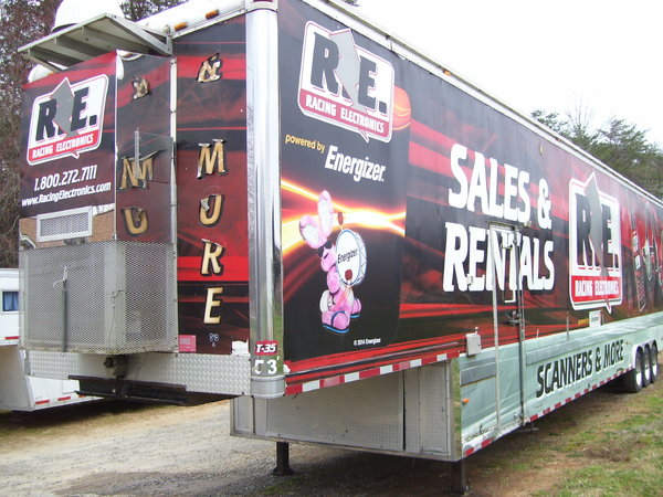 53' VENDING MERCHANDISE MARKETING TRAILER